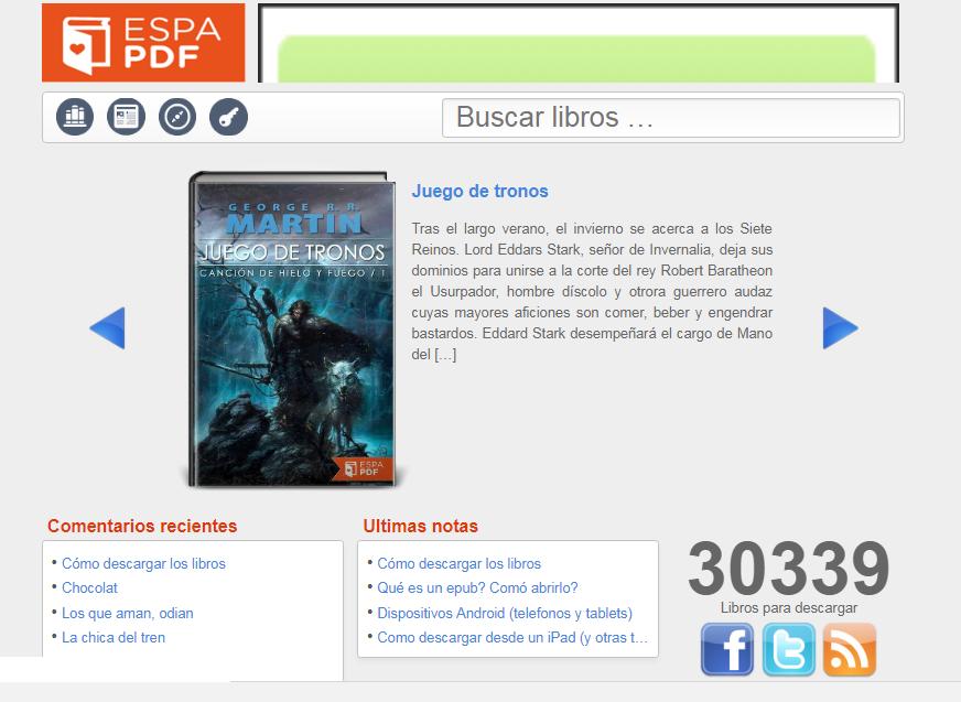 Captura de pantalla EspaPDF