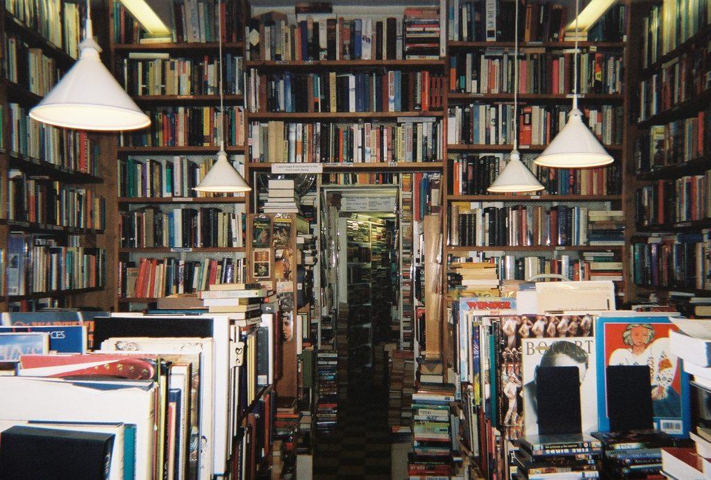 Representación de biblioteca de la cantera de las descargas
